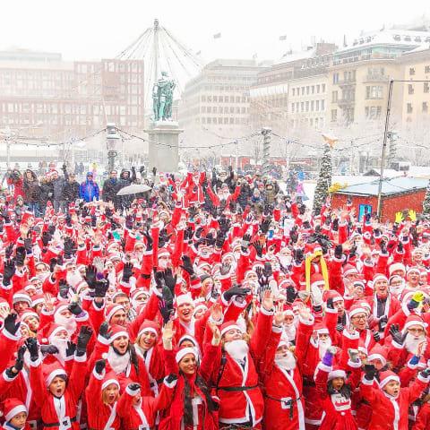 Dags för Stockholm Santa Run 2019