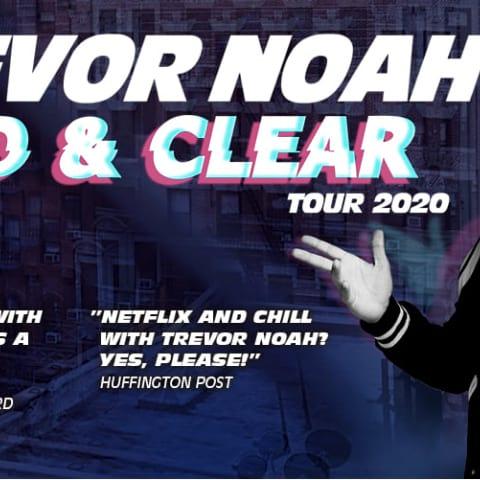 Komikern Trevor Noah till Göteborg