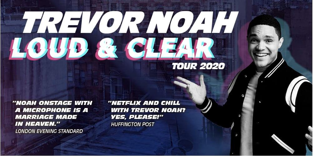 Komikern Trevor Noah till Stockholm