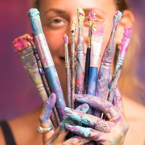 Kreativ Kickoff - lär dig måla akryl med lätthet