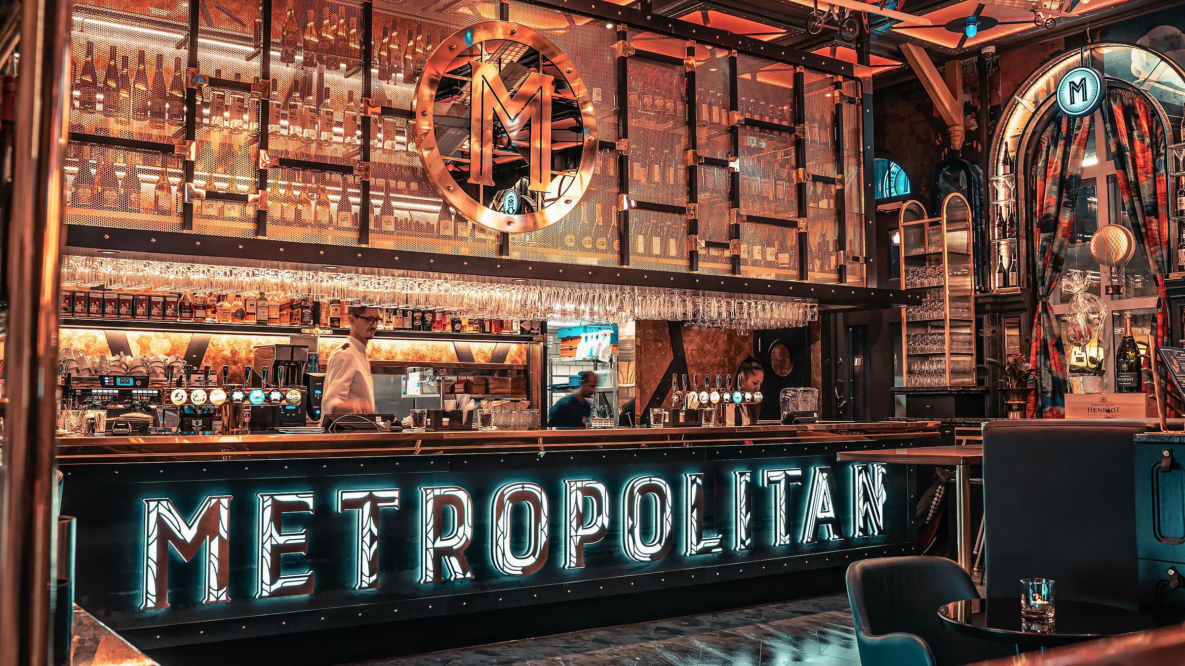 Metropolitan Brew & Grill har öppnat på Centralen