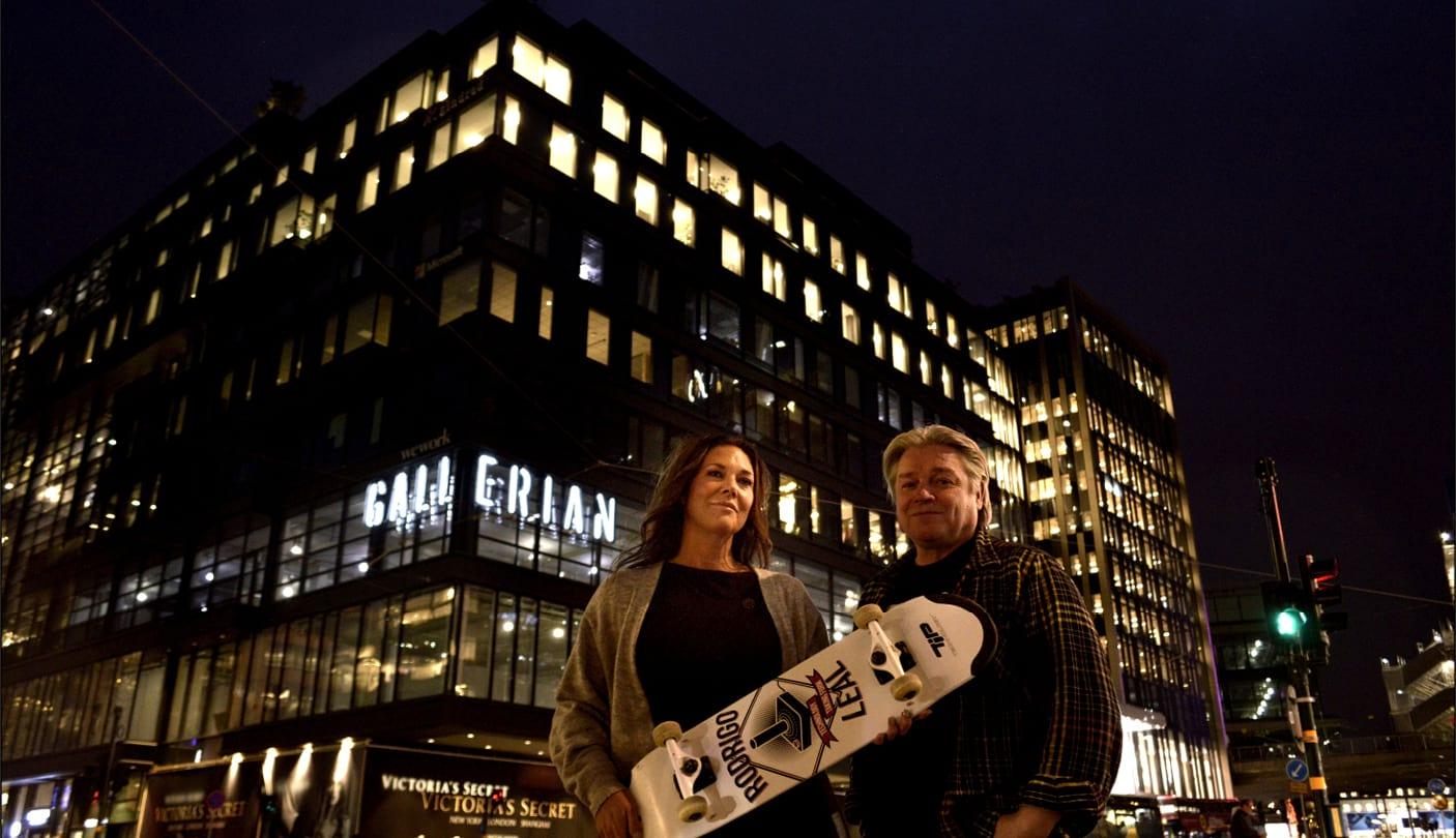 Ny skateboardpark öppnar i Gallerian