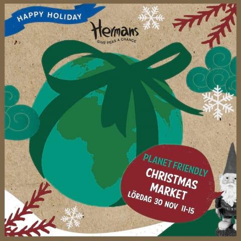 Peasful Julmarknad på Hermans