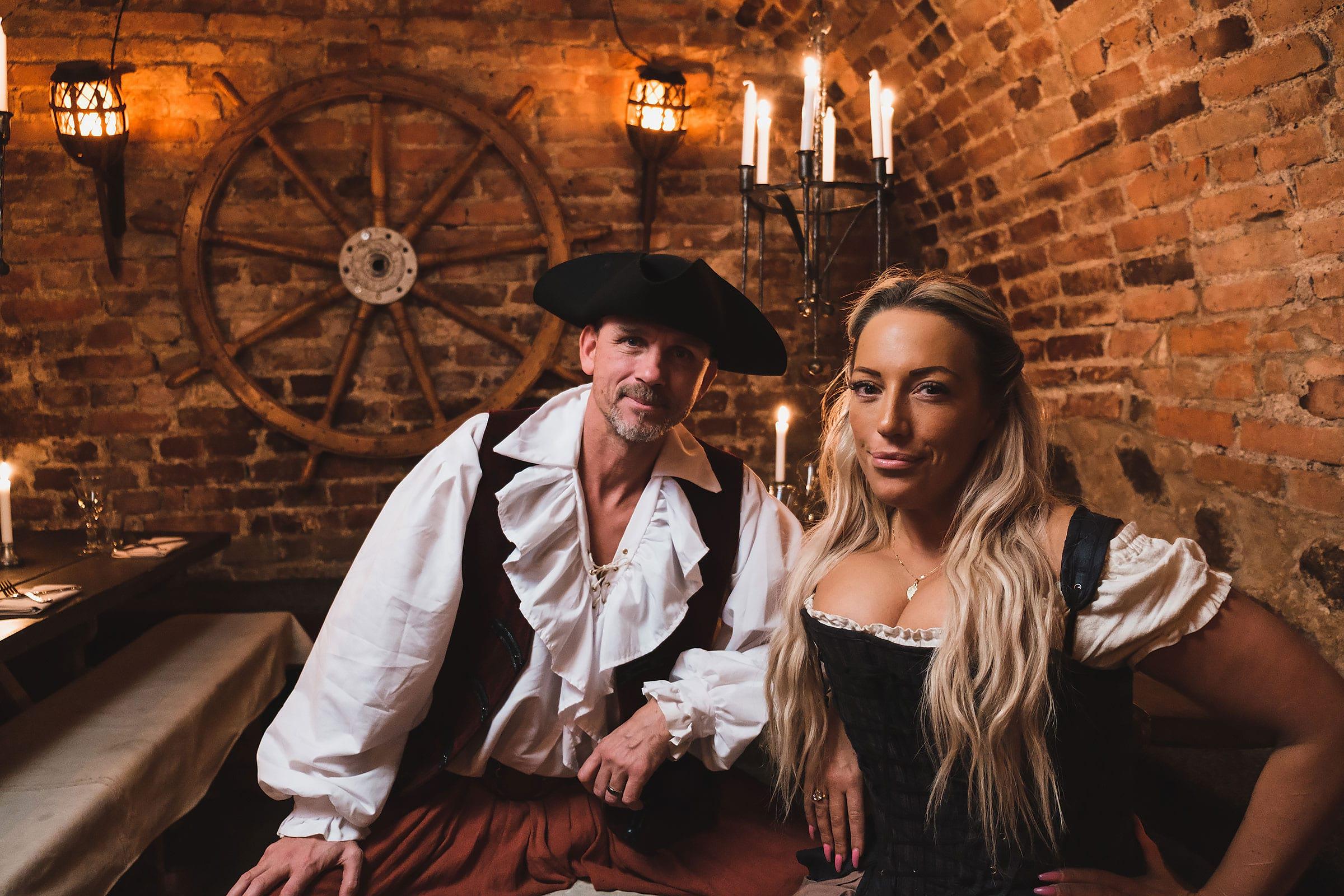 Sebastian Sahlén och Sofie Larsson.