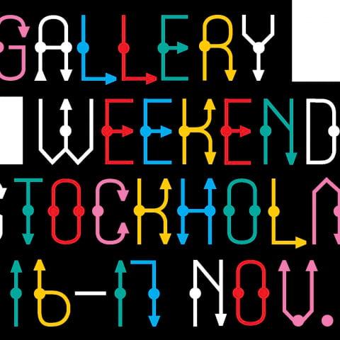 Premiär för Gallery Weekend Stockholm