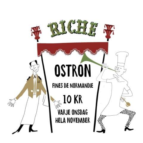 Riche Deal – ostron 10 kronor