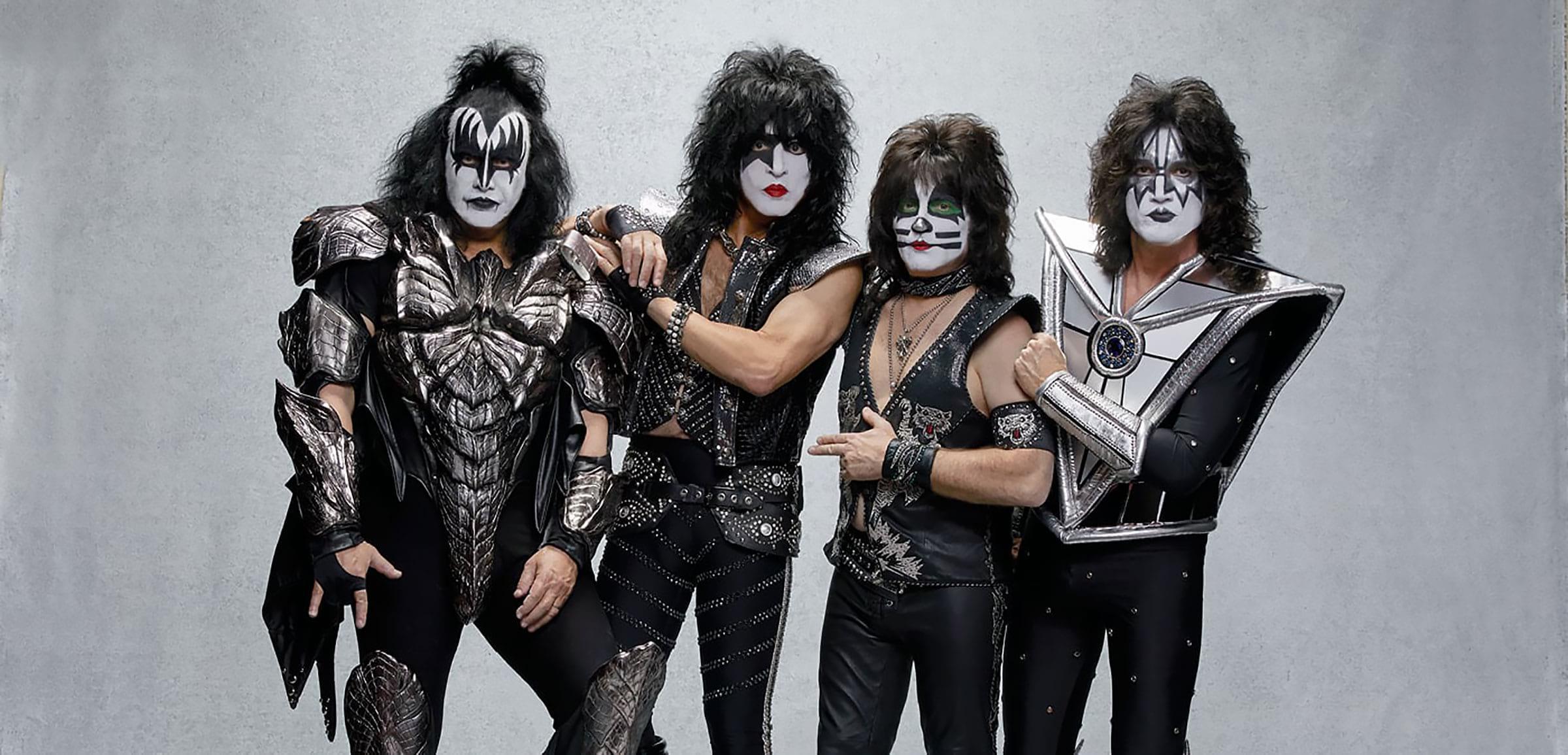 Rockbandet Kiss kommer till Göteborg