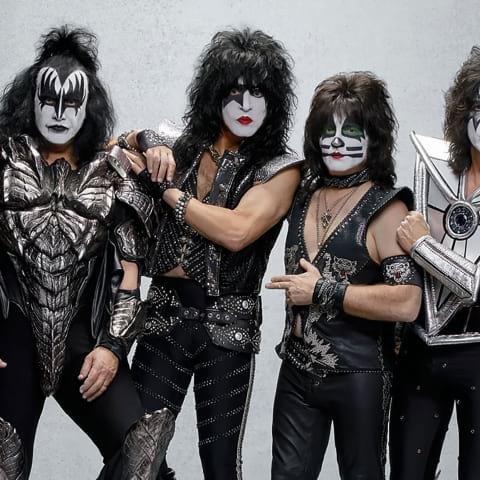 Rockbandet Kiss kommer till Stockholm