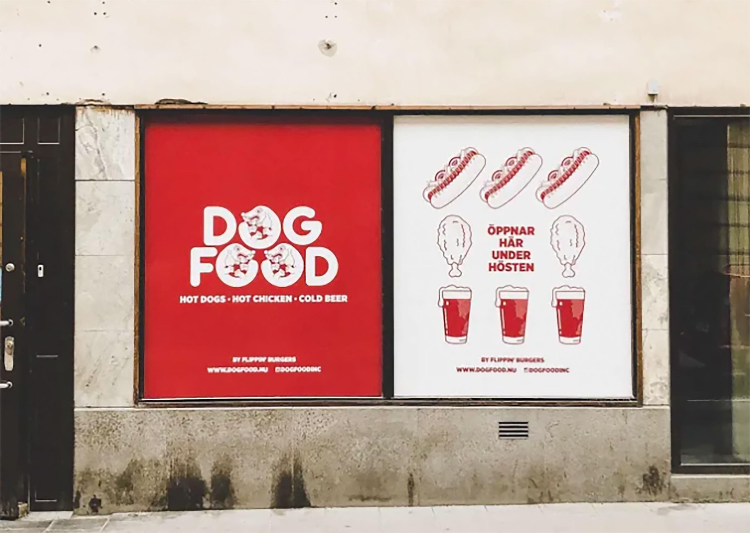 Dogfood flyttar och blir bakficka till Lådan