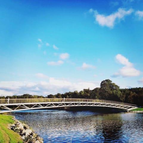 Kungliga broar på Djurgården - guidning nyinvigda Folke Bernadottes bro