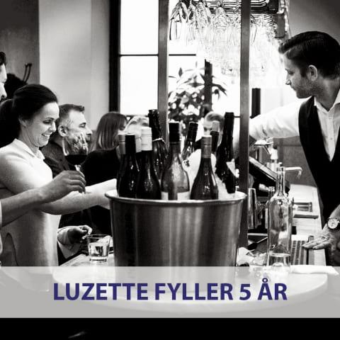 Luzette fyller 5 år och bjuder in till fest