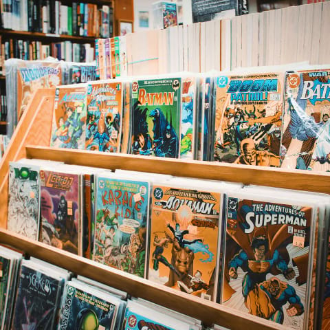 Where to buy comic books in Stockholm