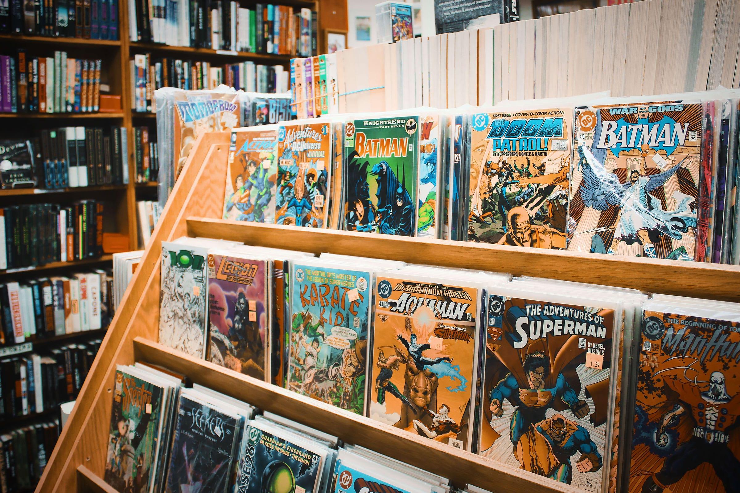 Här kan du köpa serietidningar i Stockholm