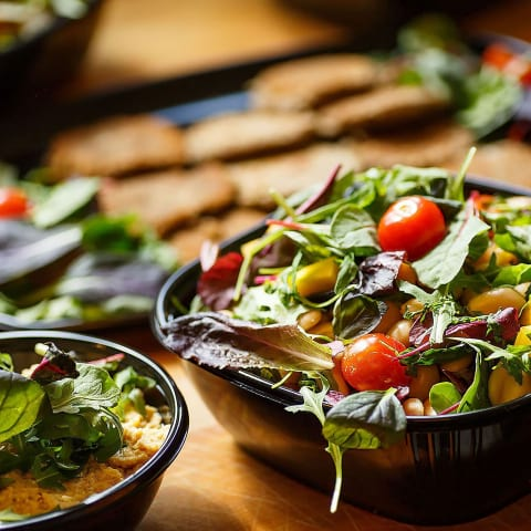 Guiden till vegetarisk catering i Stockholm