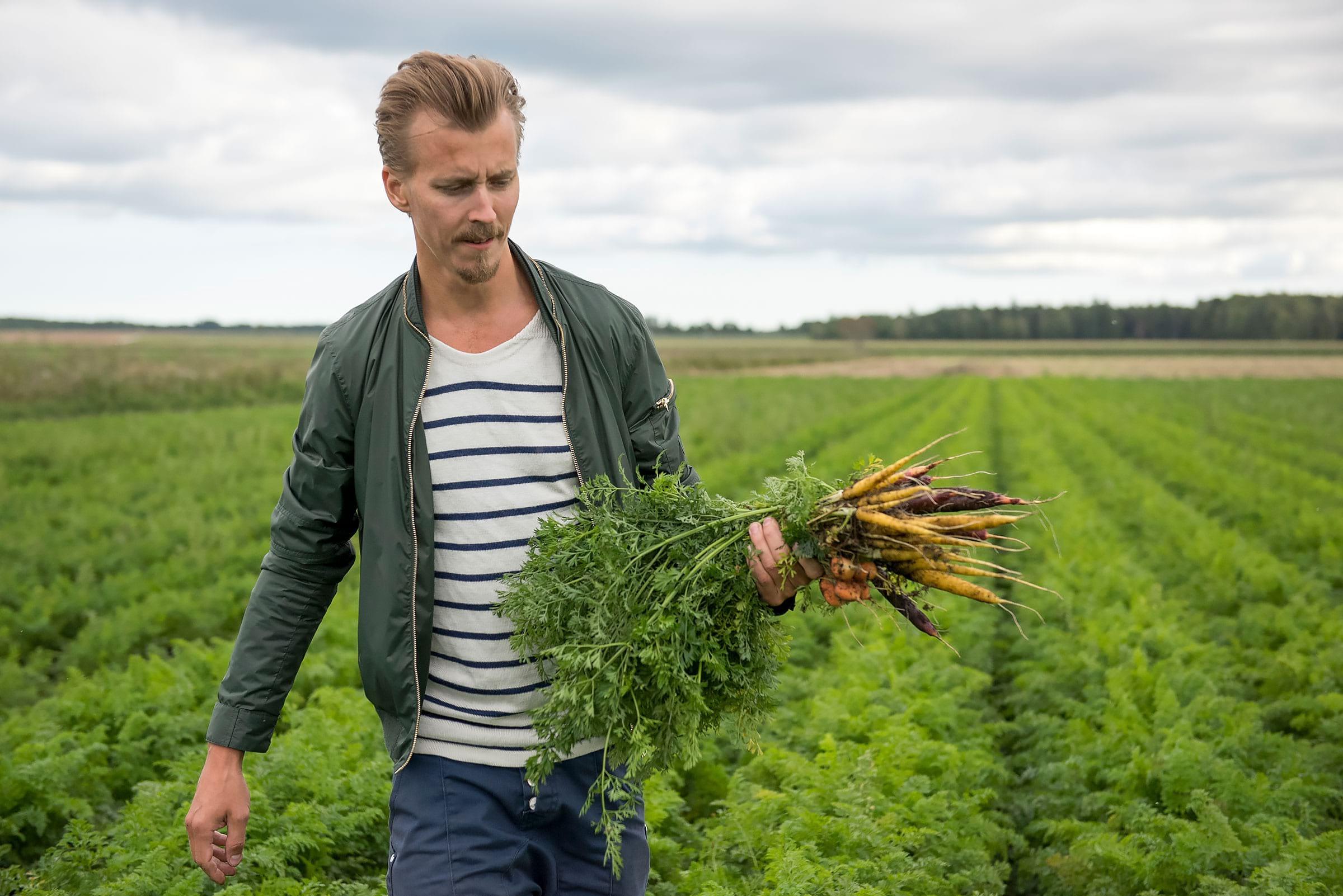 Initiativtagaren Paul Svensson, Fotografiskas matkreatör. Foto: Håkan Gustafsson.