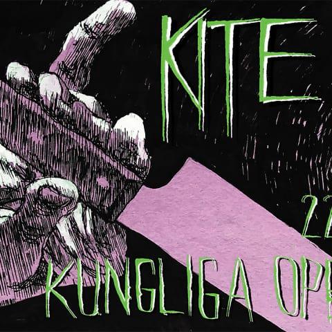 Kite spelar på Kungliga Operan