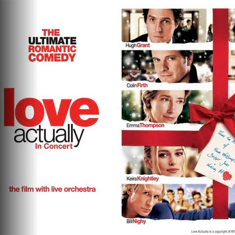 Love Actually In Concert på Konserthuset i december