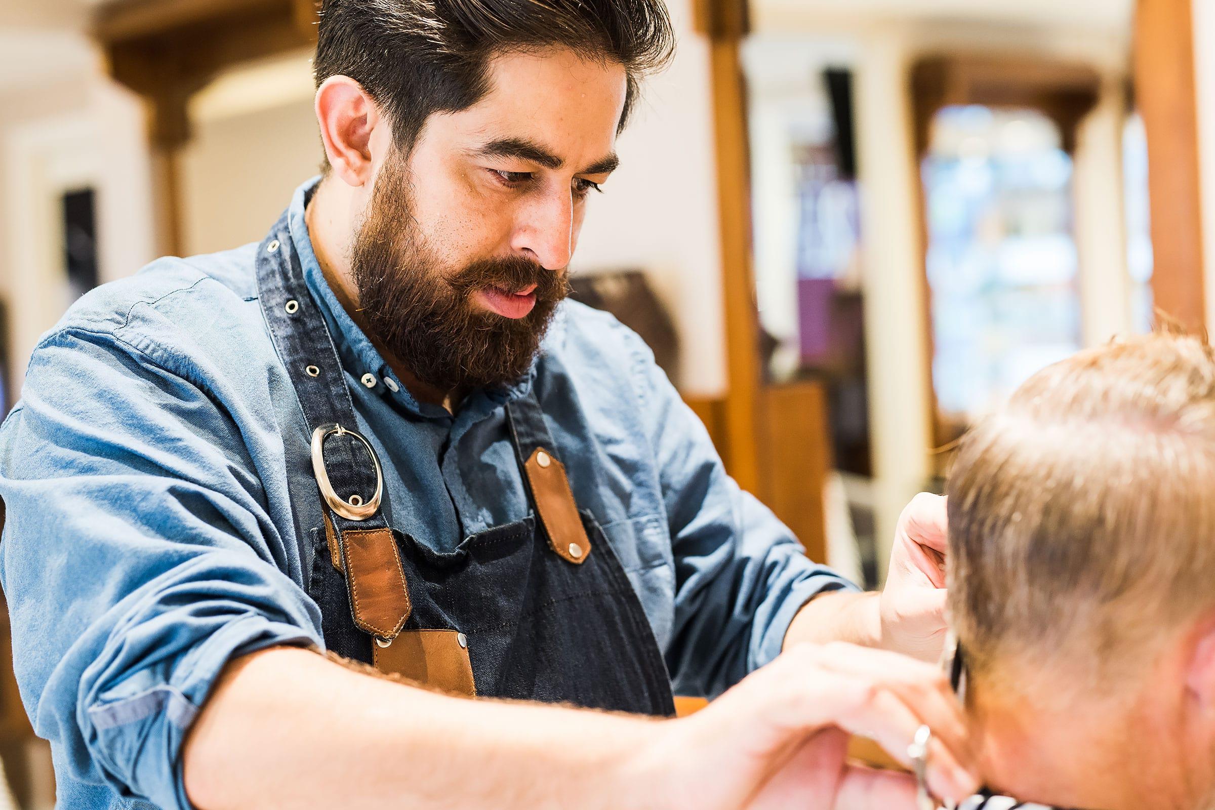 Amin Iranmanesh på Randevu Barbershop