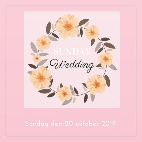 Sunday Wedding - Bröllopsmingel i Gamla Stan