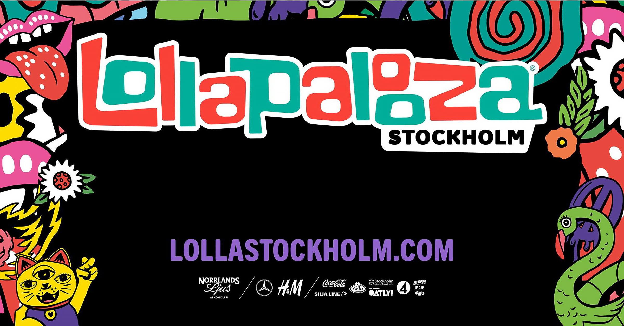 Lollapalooza 2021 i Stockholm inställt – flyttas till 2022