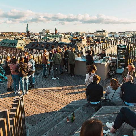 Urban Delis takpark öppnar till påsk