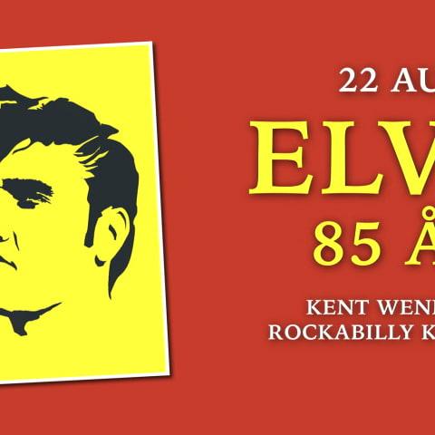 Kent Wennman Rockabillykvartett - Elvis 85 år!
