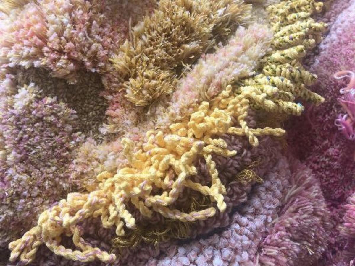Vernissage: Textilkonst på Biocafé Tellus