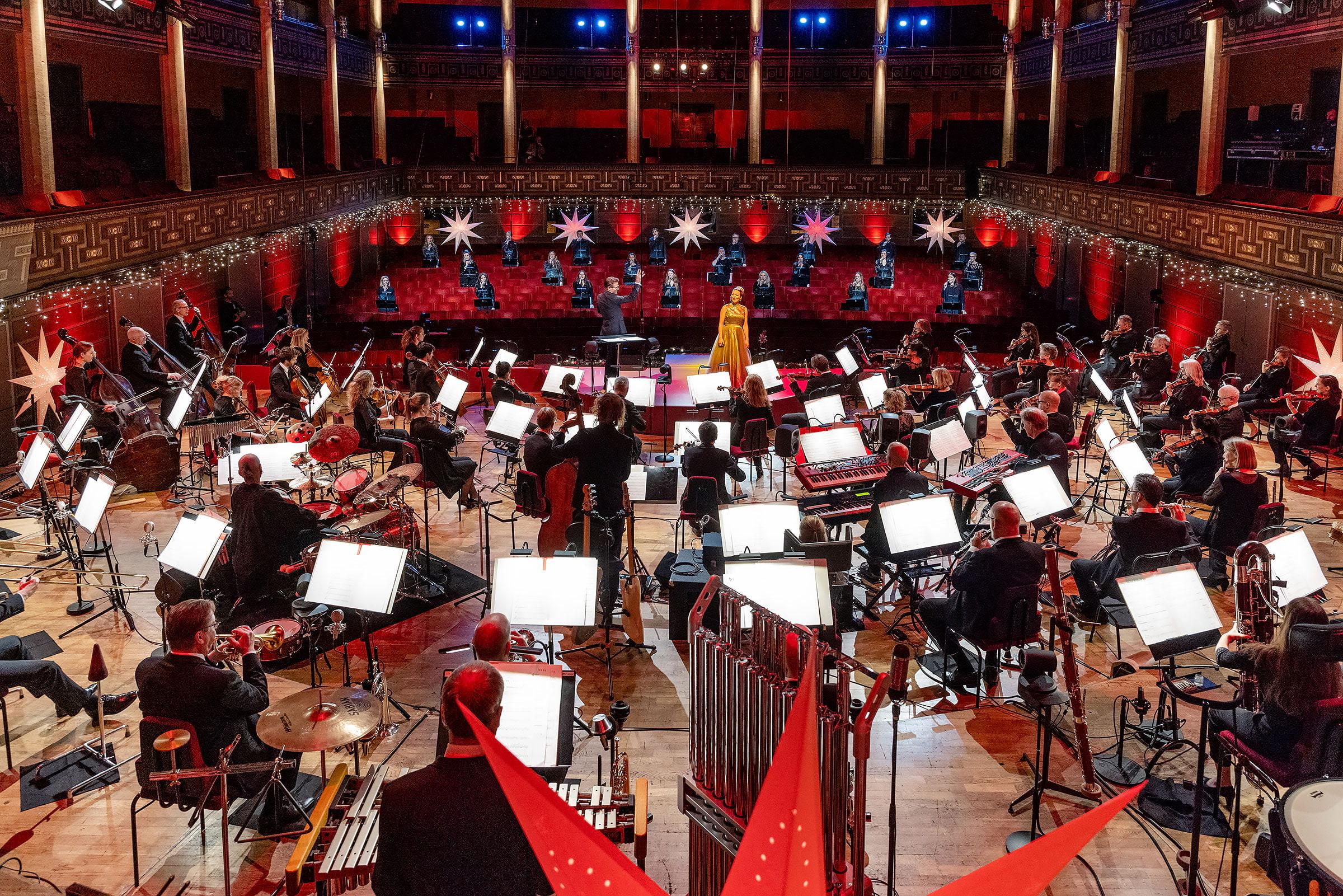 Konserthuset bjuder in till stor digital julkonsert