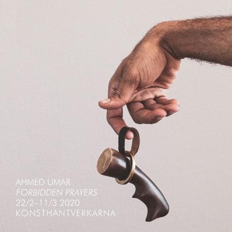 Ahmed Umar på Konsthantverkarna