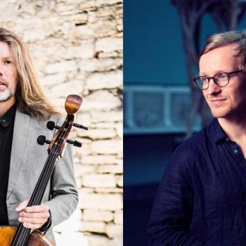 Dubbel solokonsert med Svante Henryson och Sigurd Hole