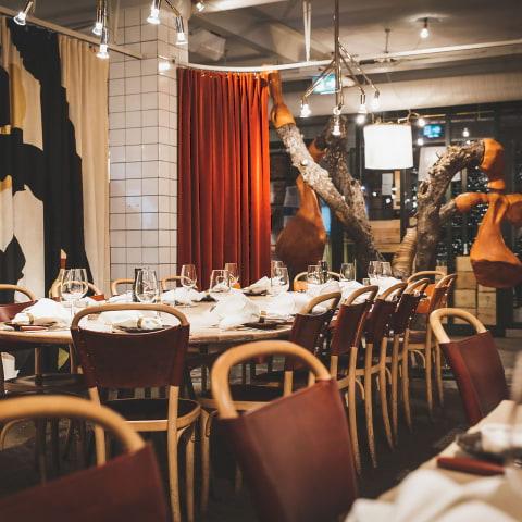 Lunch för stora sällskap i Stockholm