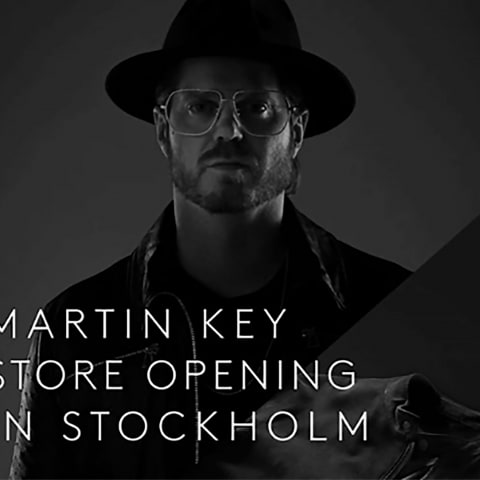 Martin Key öppnar butik på Stureplan