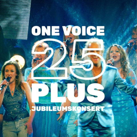One Voice 25 år- Jubileumskonsert