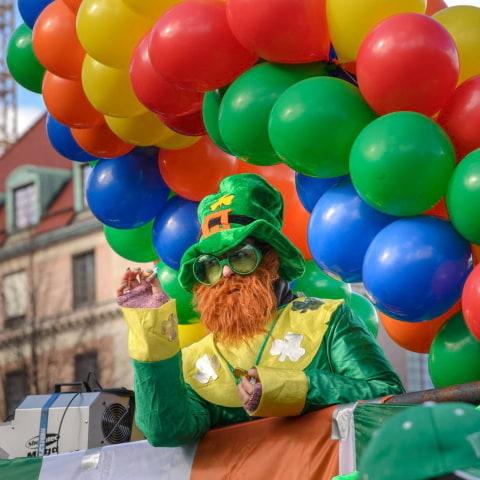 St Patrick's Parade 2020 i Kungsan