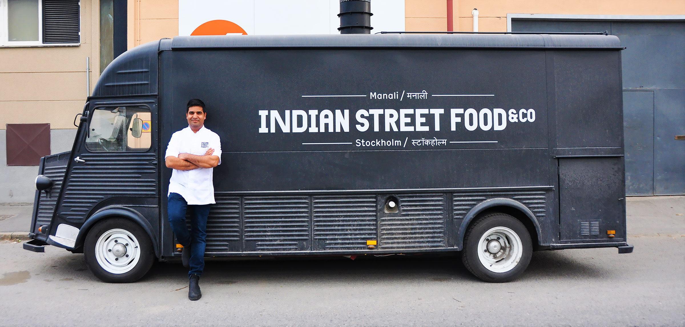 Indisk streetfood kommer till Teatern
