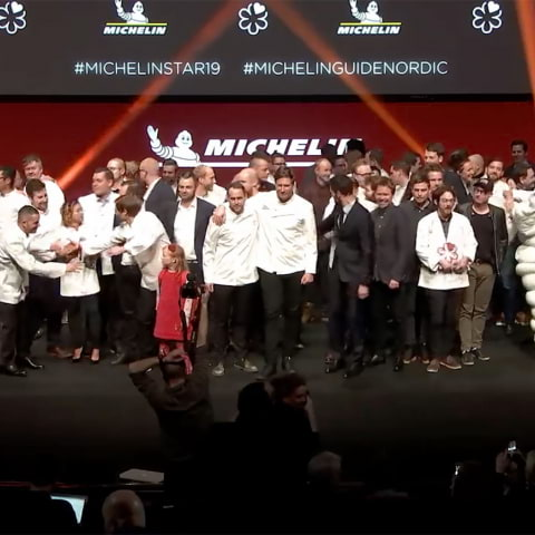 Här kan du se Michelin Nordic Guide Launch 2020