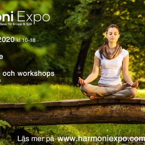 HarmoniExpo – Sveriges största alternativmässa för kropp & själ