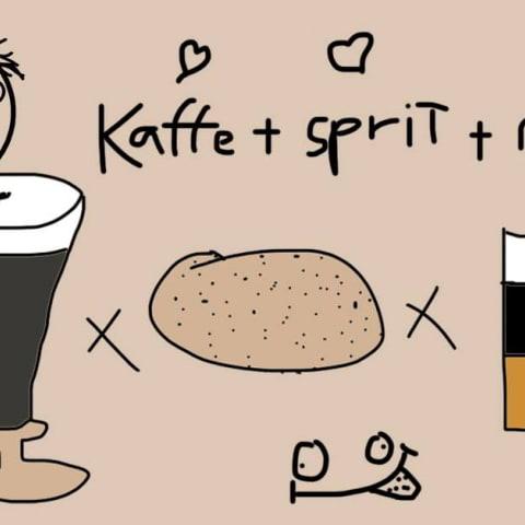 Irish coffee / Hotshot x Munk Lördag