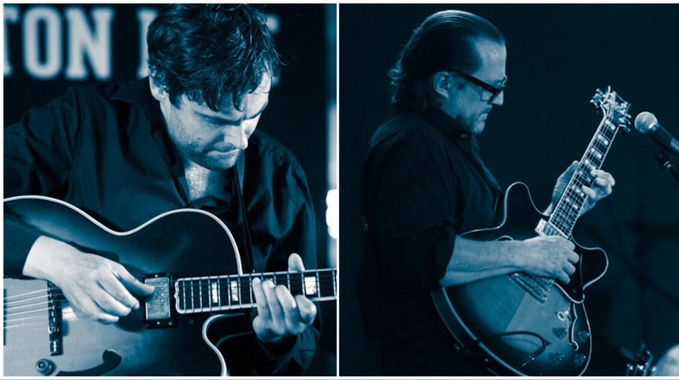Jazz Bluessalong: Gitarrduell Erik Söderlind vs Max Schultz & Supe