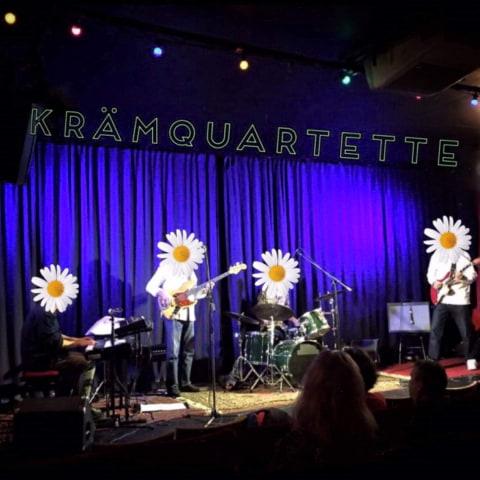 Jazzfusion Kräm Quartette på Biocafé Tellus