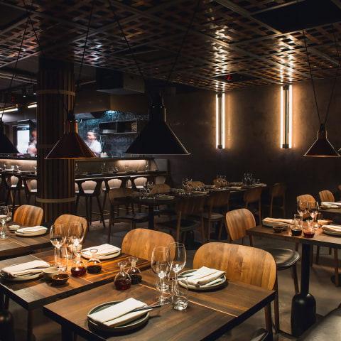 Restauranger för stora sällskap i city