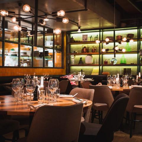 Restauranger för stora sällskap på Kungsholmen