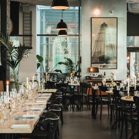 Restauranger för stora sällskap på Södermalm