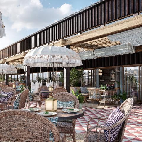 Stockholms första beach resort öppnar på Lidingö