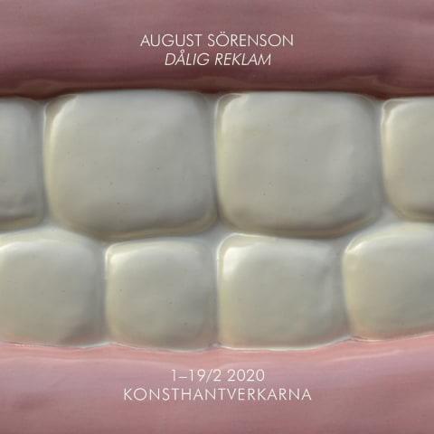 Utställning: August Sörenson – Dålig Reklam