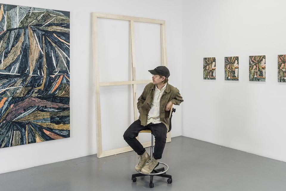 Utställning av Beckers konstnärsstipendium 2020