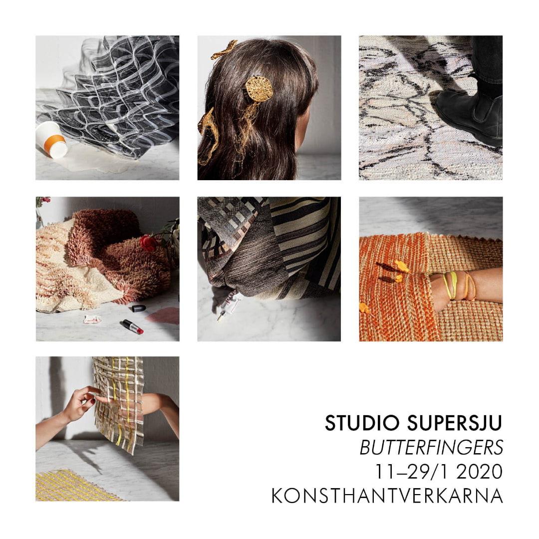 """Utställning """"Butterfingers"""" på KONSTHANTVERKARNA"""