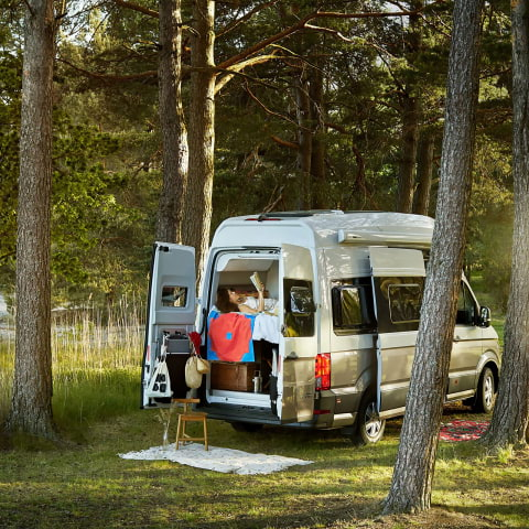 Hobo hyr ut husbilar – inredda som hotellsviter