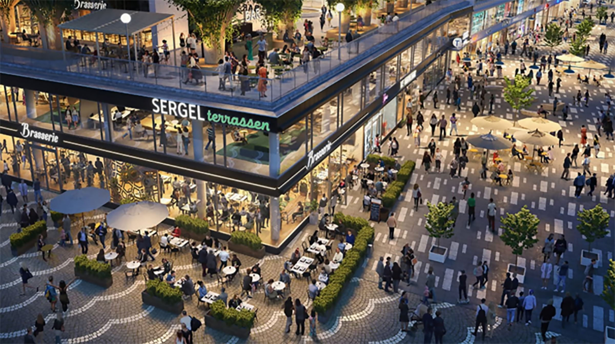 Hötorget får ny restaurang och takterrass