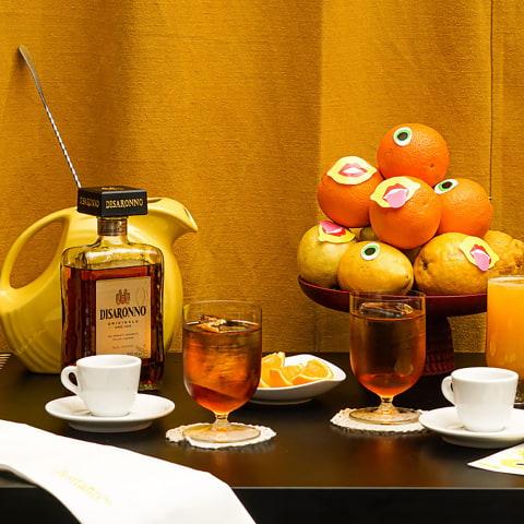 Positano(Yes) börjar med aperitivokasse